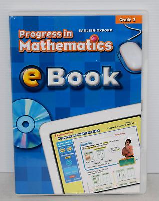 Sadlier Oxford Progress In Mathematics EBook Grade 2 FREE SHIPPING 9780821583227 EBay