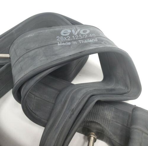 Presta Valve 48mm 2-PACK Mountain Bike Inner Tube 26 x 2.125-2.40