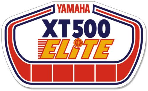 Yamaha XT500 ELITE DECALS COOL OLD STOCK 21-012