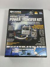 Reliance 31406crk Manual Transfer Switch 125250 V 60 A 7500 W Gray