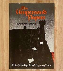 THE-AMPERSAND-PAPERS-A-Sir-John-Appleby-Mystery-Novel-by-Michael-Innes-HC-DJ