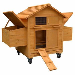 Poulailler Rollbar Incl.   2 nichoirs et poulailler poulailler poulailler en bois