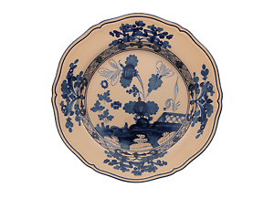 Richard-Ginori-Orient-Italian-Pink-beige-Serv-flat-18-pieces-6-pers-Seller