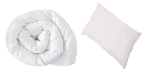 2 pièces enfants junior enfant bébé couettes et oreillers set anti allergie UK nouveau