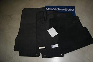 Mercedes Benz S Class W220 Anthracite Dark Grey Carpet