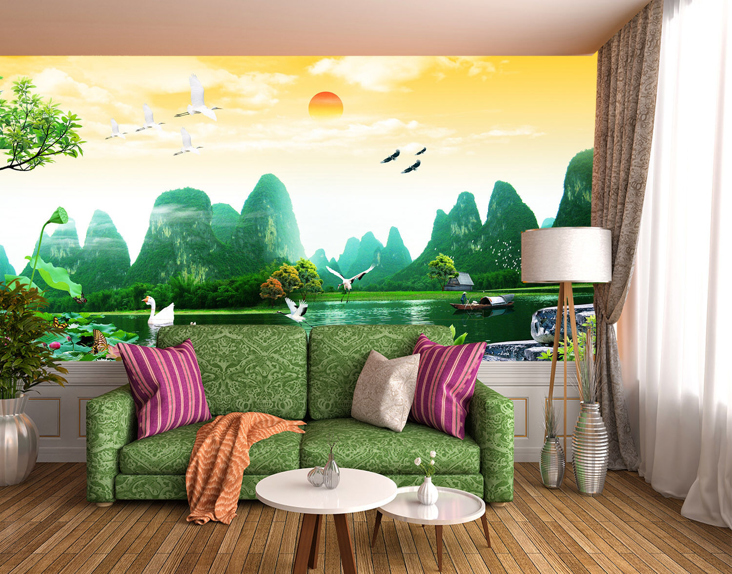 3D Beautiful Scenery 905 Paper Wall Print Wall Decal Wall Deco Indoor Murals