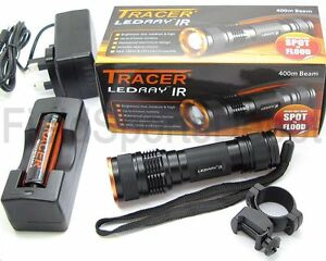Tracer LEDRay IR NV 400M Illuminator Infrared  Battery Charger - <span itemprop='availableAtOrFrom'>Hertfordshire, United Kingdom</span> - If you are not completely satisfied with your purchase, simply return the item or items to us in a resalable condition within 14 days of receipt and a refund will be given for the i - <span itemprop='availableAtOrFrom'>Hertfordshire, United Kingdom</span>