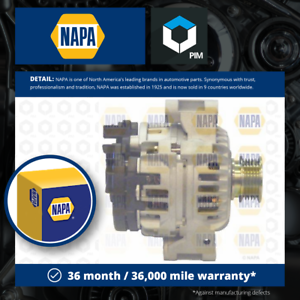 Alternator fits MG MGF RD 1.8 95 to 02 NAPA Genuine Top Quality Guaranteed New
