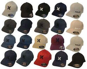 Image is loading HURLEY-FLEX-FIT-FITTED-YUPOONG-HAT-CAP-SIZE- cb732052349