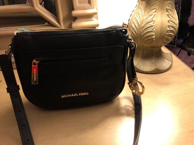 Michael Kors Medium Leather Crossbody Julia Messenger Bag 38H8YJQM2L