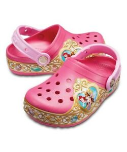 Crocs - Girl Pink Disney Princess Light