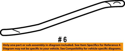 GM OEM Radiator Support-Diagonal Brace 25732086