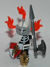 1 knight LEGO SKELETONS ARMY - built using LEGO original parts ONLY white