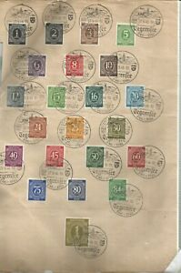 Alibes-Minr-911-937-Without-926-And-930-on-Pad-With-Special-Postmark-Tegernsee