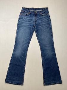 LEVI-039-S-529-bootcut-jeans-W31-L34-bleu-tres-bon-etat-Homme