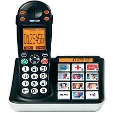 Topcom Sologic B935 analoges schnurloses gross Tasten Telefon DECT/GAP