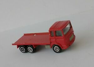 Vintage-metal-Majorette-Saviem-auto-truck-red-Made-in-France
