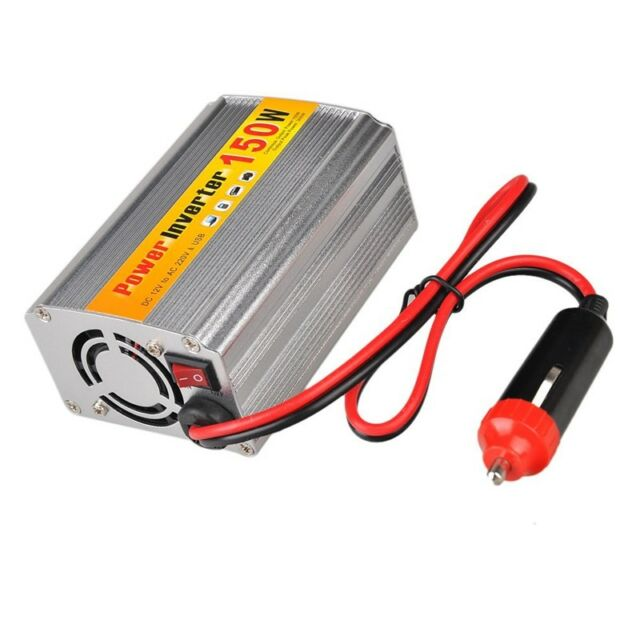 150W DC 12V to AC 220V Car Power Inverter with USB connector voltage transf C2Y1