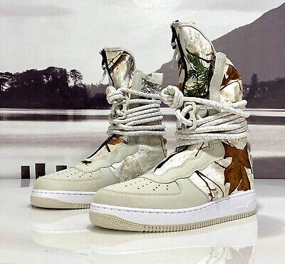 proporcionar un montón de estilo de moda de 2019 tienda de descuento Nike SF Air Force 1 Realtree Camo High Light Bone AA1128 005 Men ...