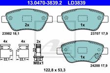 Scheibenbremse Vorderachse ATE 13.0470-4833.2 Ceramic Bremsbelagsatz