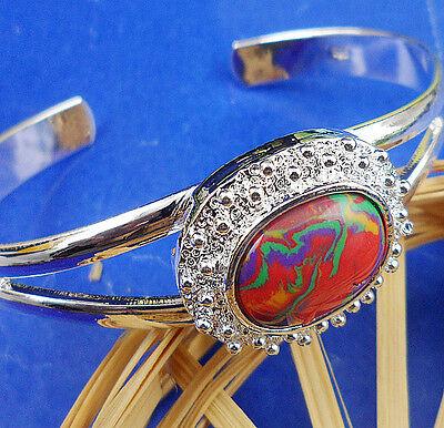 !lovely 1PCS S925 Sterling silver Turquoise  Net Cuff Bracelet BJ120