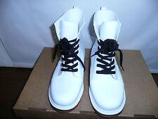 VELCANS Fashion Transparent and Flat Ladies Rain Boots 7.5M US