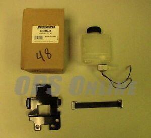 Mercruiser Gang Öl Lube Bottle-Reservoir-Monitor-Sensor 8M0075710 806193A47 LC