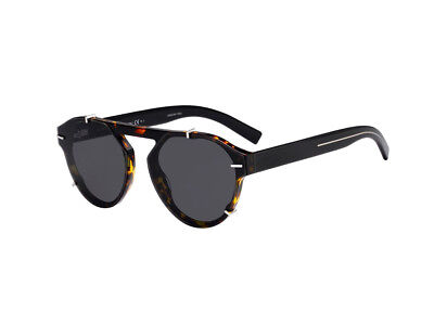Adattabile Occhiali Da Sole Dior Blacktie254s Havana Nero Grigio 581/2k Forma Elegante