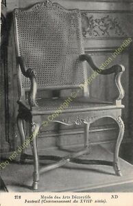 Postcard-Arts-Decorative-Chair-Furniture-Period-XVIII-Edit-ND-278