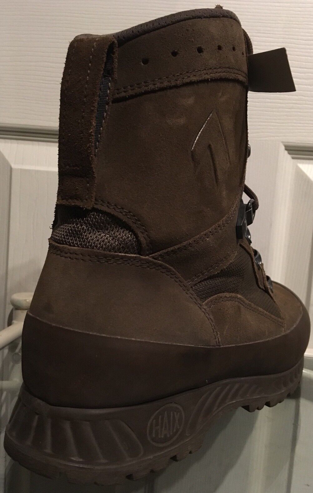 Haix Desert Brown Suede MTP Army Issue Combat Boots 8M HXD38M