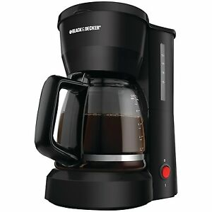 Black & Decker 5 Cup Automatic Drip Coffee Pot Maker Brewer eBay