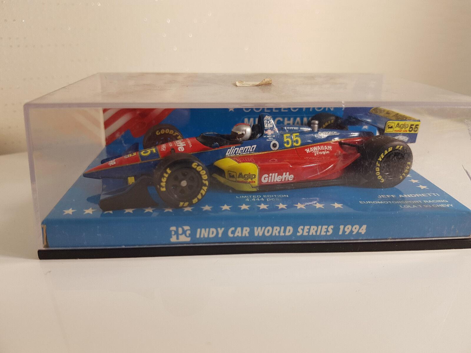 Minichamps Indy car 1994 Jeff Andretti 1 43 comme comme comme neuf Rare Edition Limité 8739db