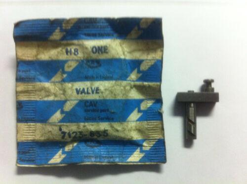 light load 7123-835 CAV Lucas Shut OE Metering Valve NEW OE