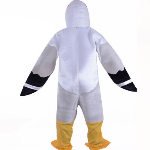 Adult Unisex Animal Costume Seagull Cosplay Halloween Festival Party Fany Dress