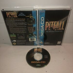 Pitfall-The-Mayan-Adventure-SEGA-CD-Game-Complete-TESTED-Works-CIB-Fun-Vintage