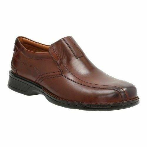 Clarks masculino Escalade pedal zapatos marróns 26113919