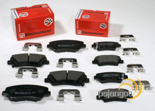 Zimmermann Bremsbeläge Bremsklötze Bremse für vorn hinten* Hyundai Veloster FS