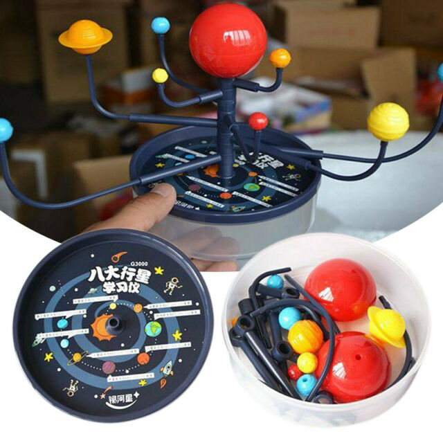 US Solar System 8 Planets Model Science DIY Kids ...