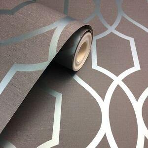 Sommet-Geometrique-Treillage-Peint-Ardoise-Gris-Bleu-Fine-Decor-FD41996-Metal