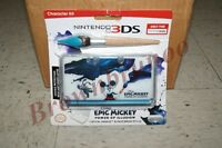 Epic Mickey Power Of Illusion Crystal Armor & Paintbrush Stylus For Nintendo 3ds