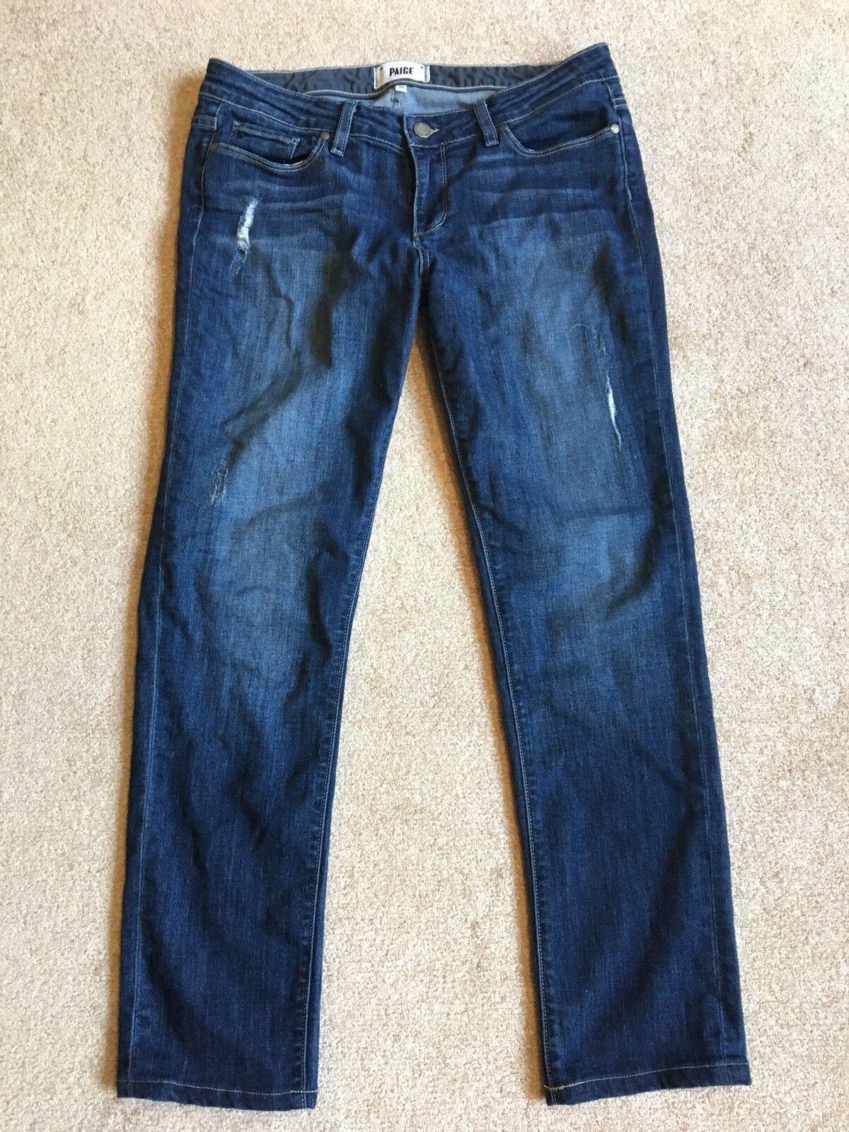 Paige Jimmy Jimmy Skinny Jeans Women's Size 28