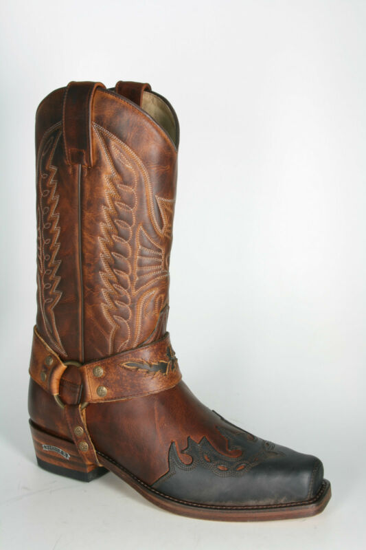 7862 Sendra Boots Seta Spr. Chocolate Evolution