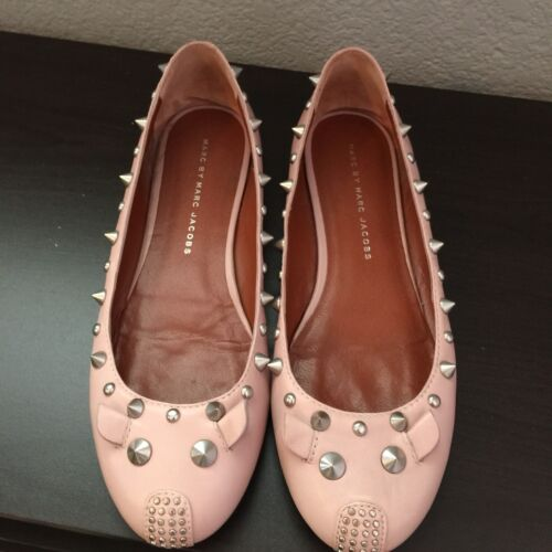 Blush Marc By Jacobs Flats Mouse 5 Ballerina Studded 36 Size HYROZYxq