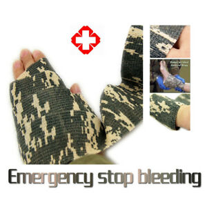 Self-adhesive ACU Camo Wrap Airsoft Hunting Camouflage Stealth Tape 5cm x 4.5m