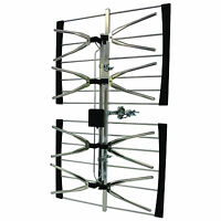 Tv Antenna Kit 2 Way Premium Pack (2) Uhf Digital Pre Built Please Read