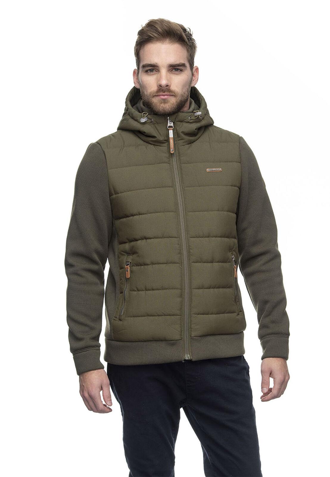 Ragwear chaqueta señores doryan 2022-60015 verde aceituna 5031