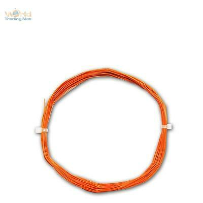 10m Dekoder-Litze orange 0,5mm//0,04mm² MINI Kabel flexibel 0,28€//m