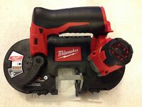 MILWAUKEE 2429-20 12V CORDLESS M12 LITHIUM-ION SUB-COMPACT BAND SAW TOOL ONLY Tools and Accessories