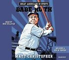 Great Americans in Sports: Babe Ruth by Matt Christopher (CD-Audio, 2015)