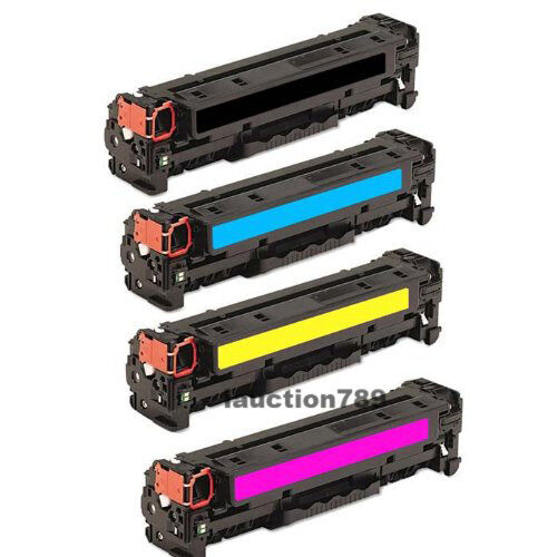 4x HP CE320A3A Toner For Color Laserjet CM1415 CM1415fnw CP1520 CP1525nw
